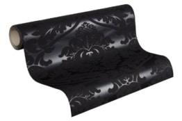 Barock Tapete von LivingWalls in Schwarz