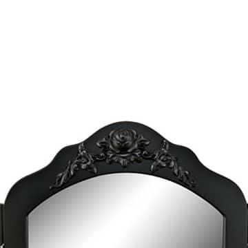 Schminktisch Schwarz Spiegel